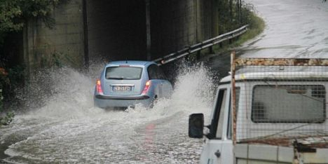 Rischio alluvione in Gallura: codice rosso