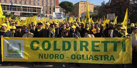 Coldiretti Nuoro Ogliastra: continua la mobilitazione