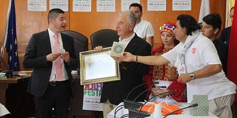 Ittiri folk festa: saluto alle delegazioni straniere