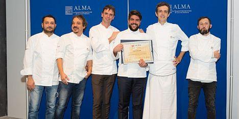 Luca Canadu diplomato cuoco professionista