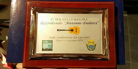 Serata da applausi per Antonio Dalerci