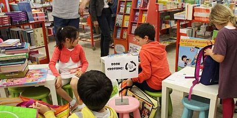 All'Asfodelo il primo Bookcrossing scolastico