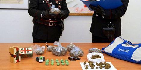 Mezzo chilo di marijuana: ittirese in manette