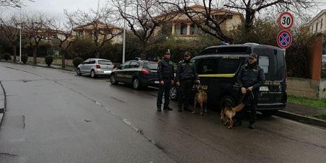 Attività antidroga nel Cagliaritano