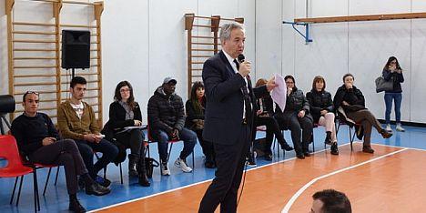 La Regione incontra le scuole: Spanu ad Oristano