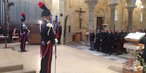 I carabinieri al Precetto Pasquale interforze