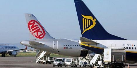 Laudamotion, da Olbia decolla Ryanair