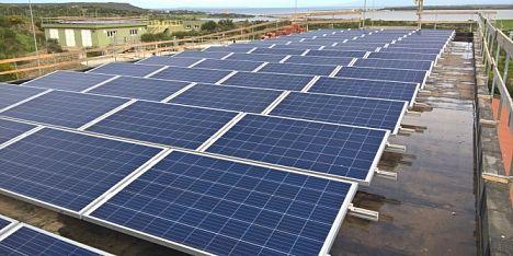 Energia verde nei potabilizzatori sardi