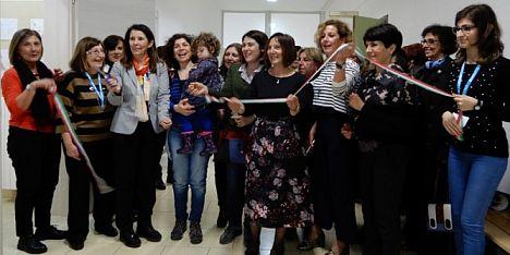 Baby pit stop Unicef negli uffici di Via Venezia