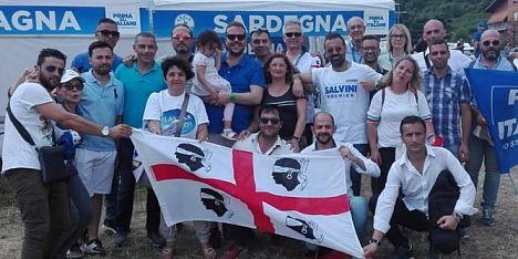 Pontida: nord Sardegna presente