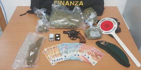 Droga: doppio arresto a Sassari