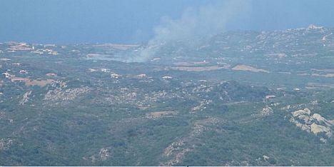 Domato incendio a Santa Teresa di Gallura