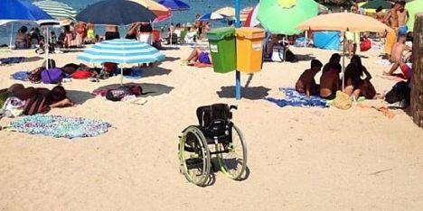 spiagge off limits per i disabili
