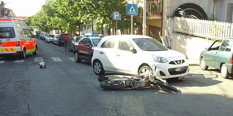 Incidente a Bolotana: motociclista in ospedale
