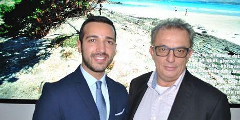 Il principe libanese Arslan incontra il sindaco Diana