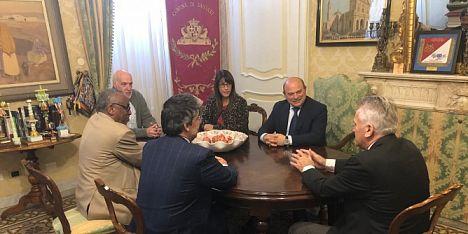Sudan e Macedonia: delegazioni a Palazzo Ducale