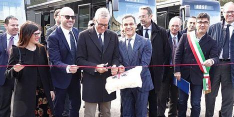 Consegnati i nuovi bus a Pratosardo