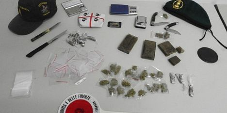 Droga: doppio arresto a Quartu