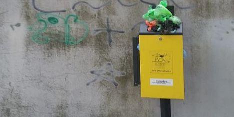 Dog Box stracolmi, disservizio perenne in via Mentana