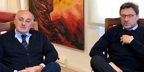 Insularità: Fois incontra Giorgetti