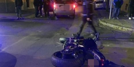 Incidente ad Alghero: motociclista in ospedale - Alguer.it